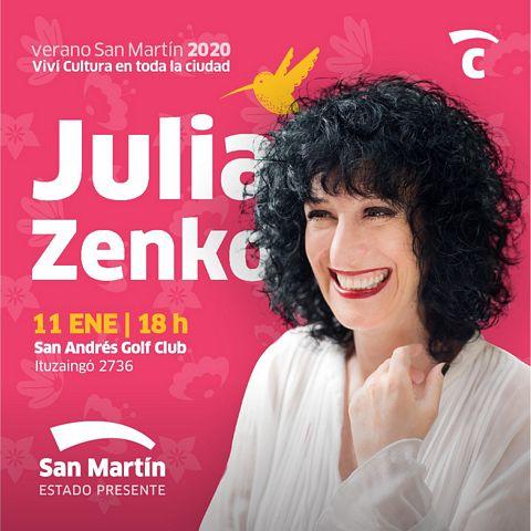 Julia ZENKO y Esteban MORGADO